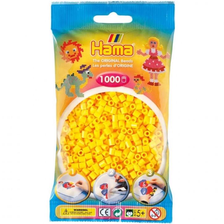 Bügelperlen 1000er Beutel gelb
