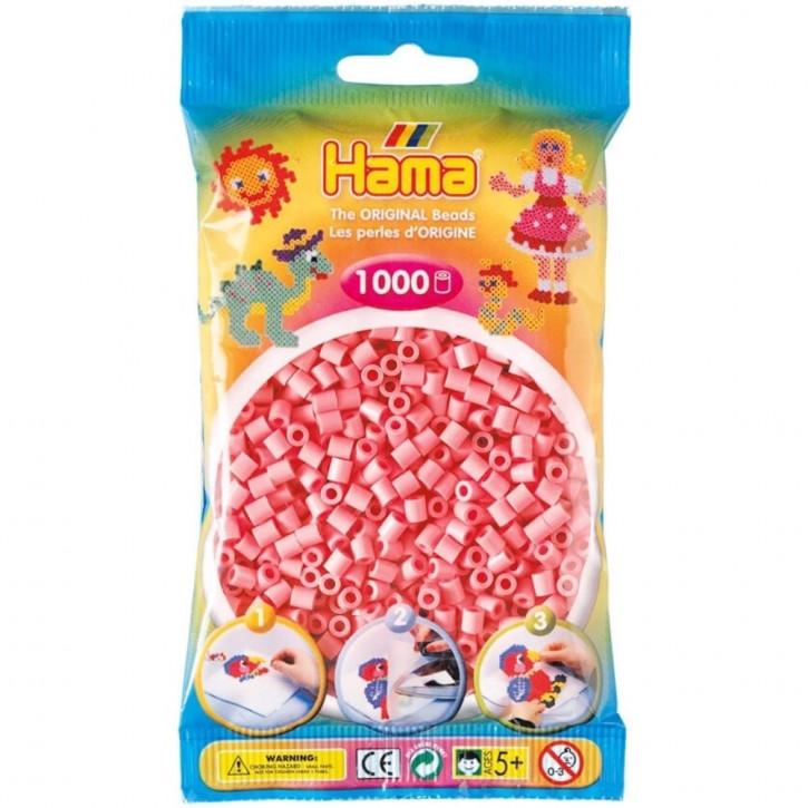 Bügelperlen 1000er Beutel rosa
