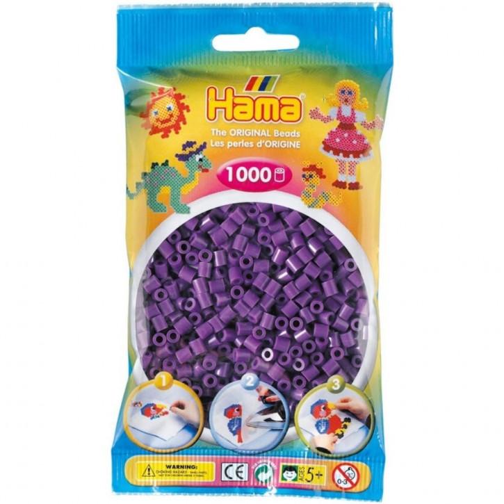 Bügelperlen 1000er Beutel lila