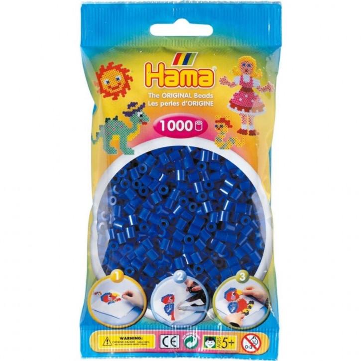 Bügelperlen 1000er Beutel blau