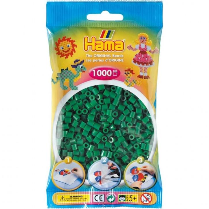 Bügelperlen 1000er Beutel grün