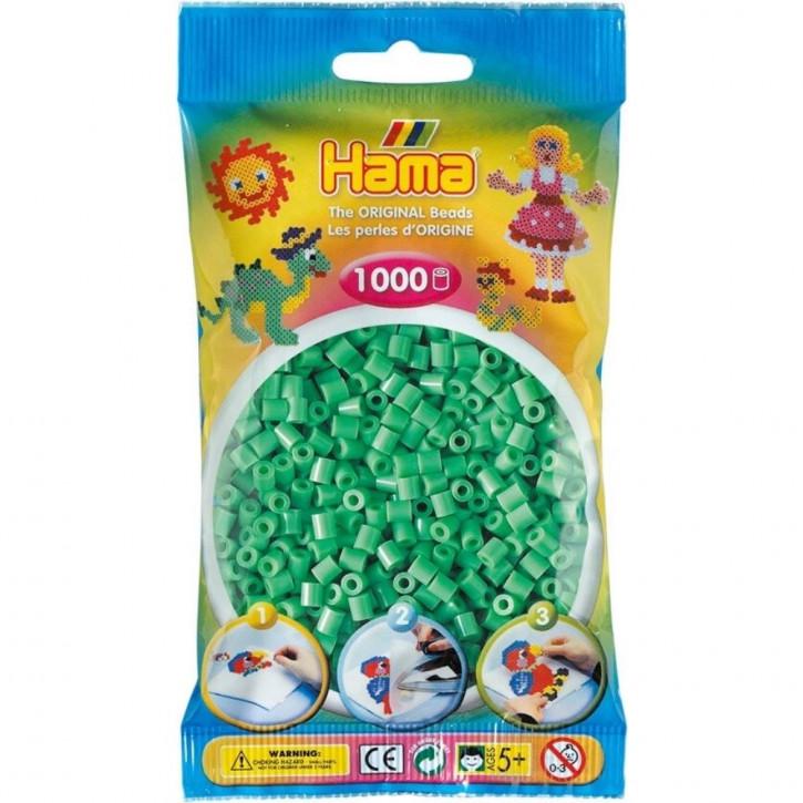 Bügelperlen 1000er Beutel hellgrün