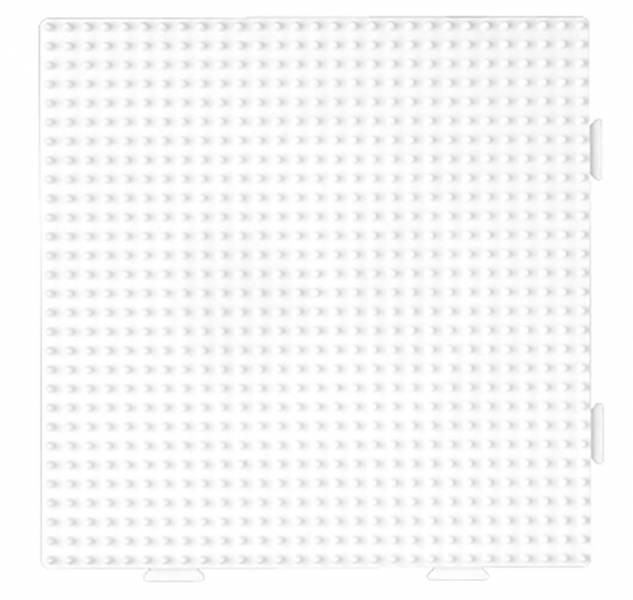 Bügelperlen Stiftplatte viereckig groß MultiBügelperlen Stiftplatte 16cm steckbar