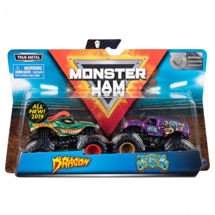 MNJ Monster Jam 2 Pack 1:64