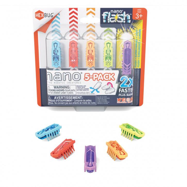 HEXBUG Nano + Flash 5-Pack