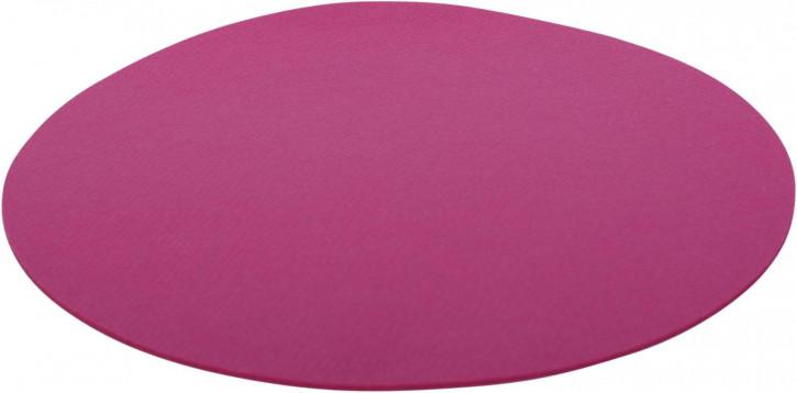 Filz-Set rund 33cm pink