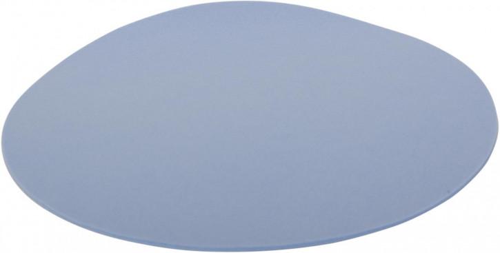 Filz-Set rund 33cm hellblau