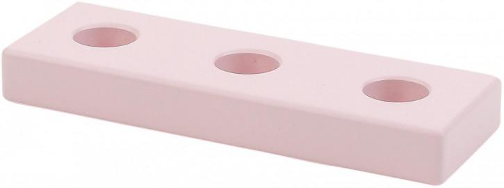 Geburtstags-Gerade 3 Steckplätze rosa