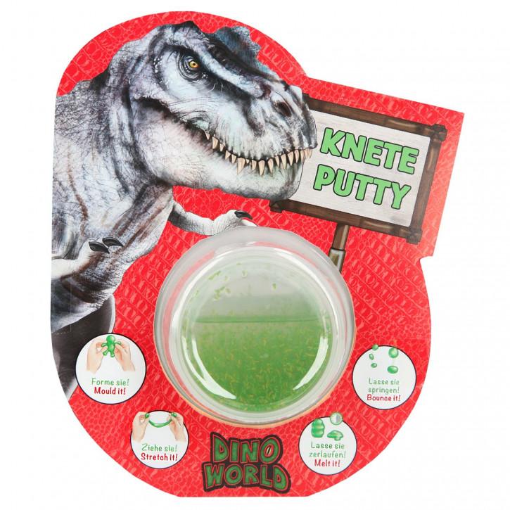 Dino World Spring-Knete mit Glitzer