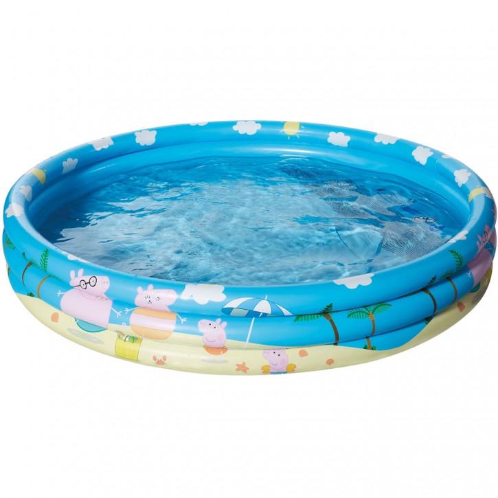 Pool ca. 122 cm 3-Ring Peppa Pig