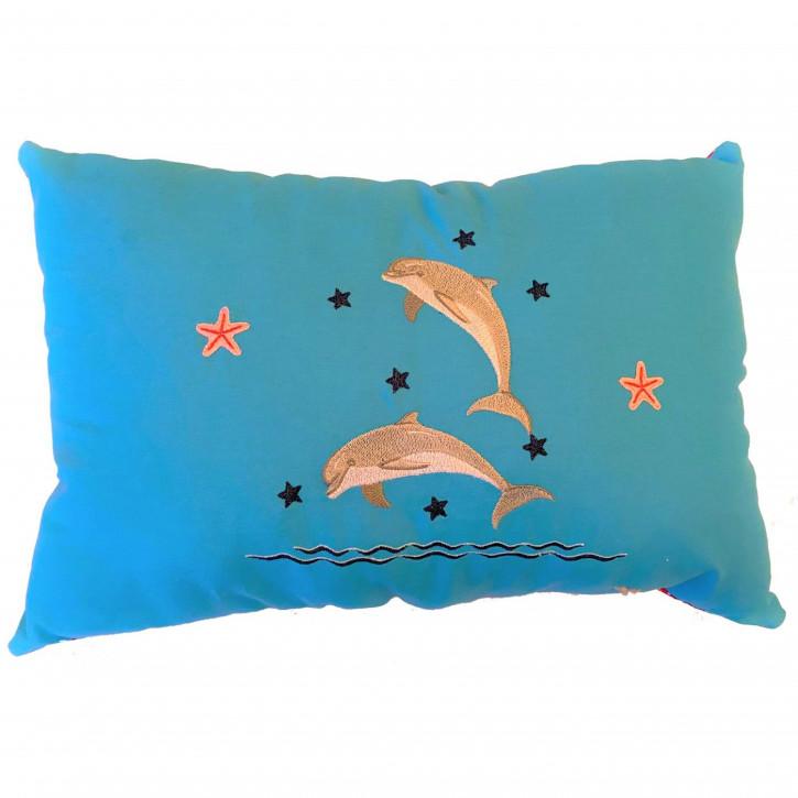 Kuschelkissen Delfine