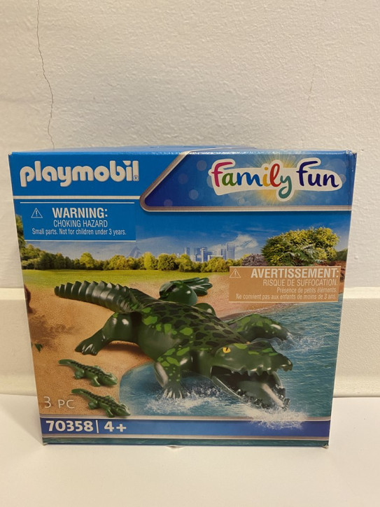 Playmobil Alligator mit Babys