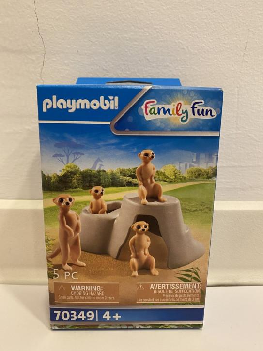 Playmobil 70349 Erdmännchenkolonie