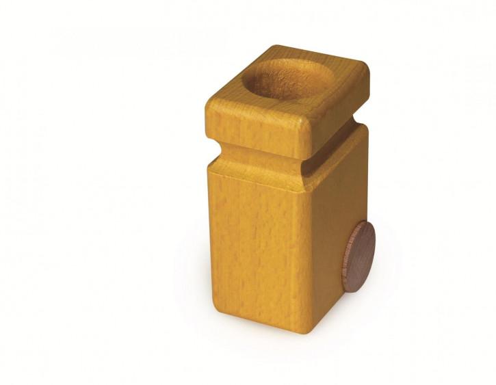fagus Mülltonnen für Müllkipper, gelb 2er