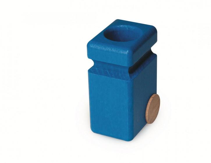 fagus Mülltonnen für Müllkipper, blau 2er