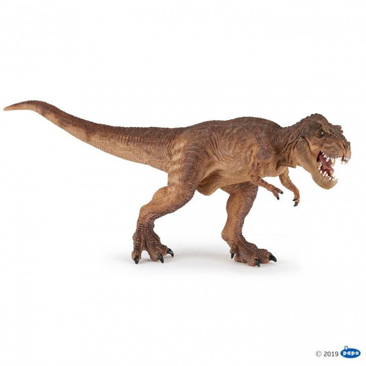 Papo 55075 Laufender T- Rex braun