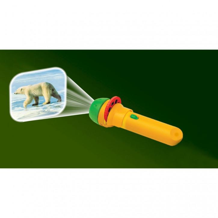 Taschenlampenprojektor Wilde Tiere