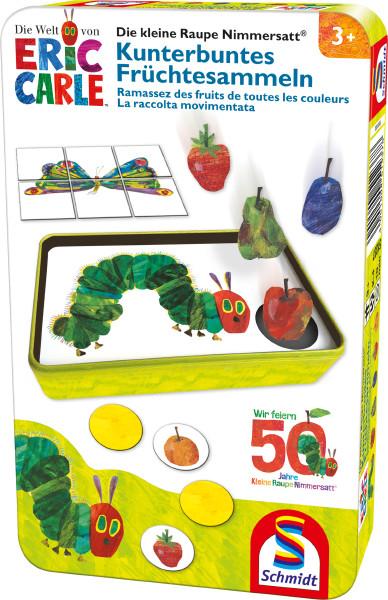 Die kleine Raupe Nimmersatt, Kunterbuntes Früchtesammeln