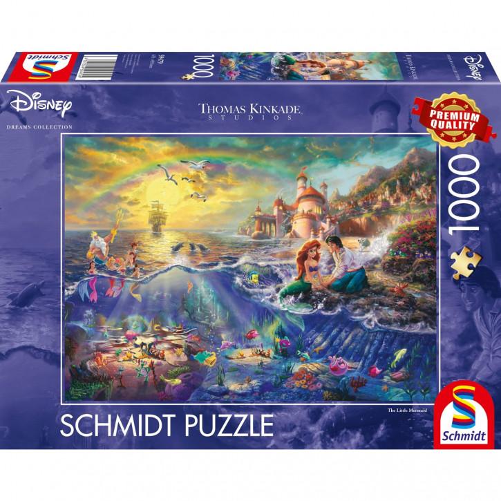 Puzzle 1000 Teile Thomas Kinkade - kleine Meerjungfrau
