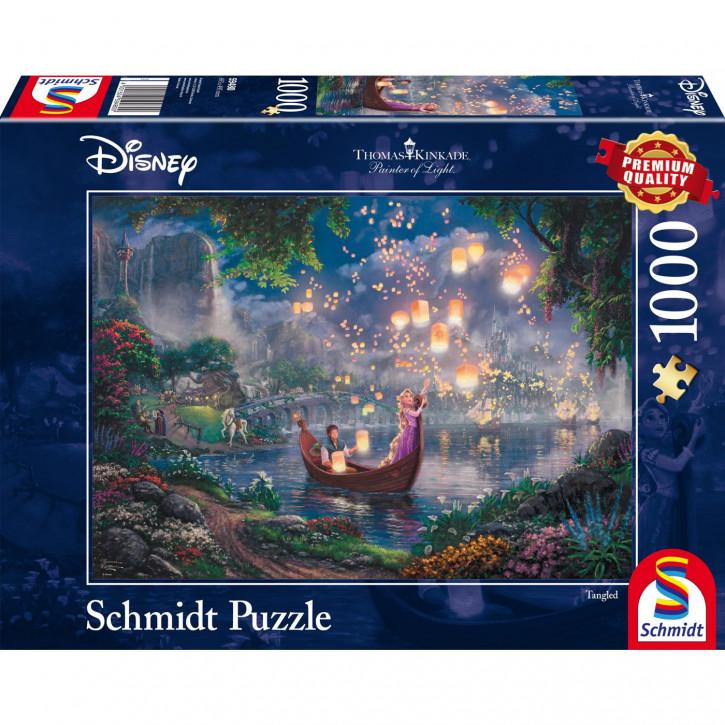 Puzzle 1000 Teile Thomas Kinkade - Disney Rapunzel