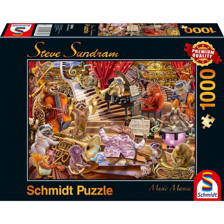Puzzle 1000 Teile Steve Sundram - Music Mania