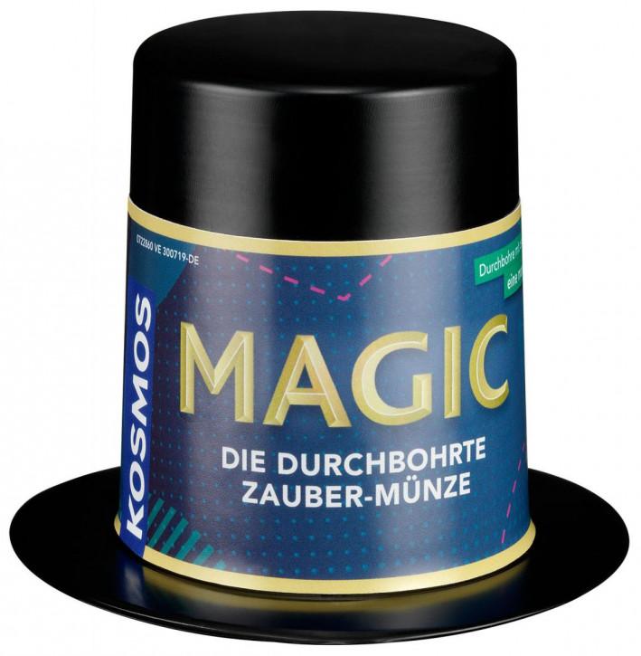 MAGIC Mini Zauberhut – Die durchbohrte Zaubermünze