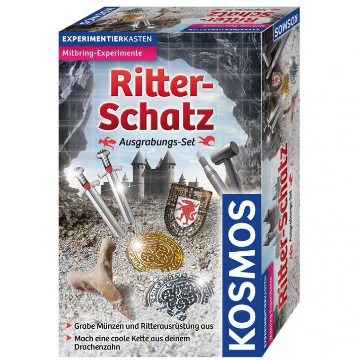 Ritter-Schatz - Grabe funkelnde Münzen und Spielsteine aus