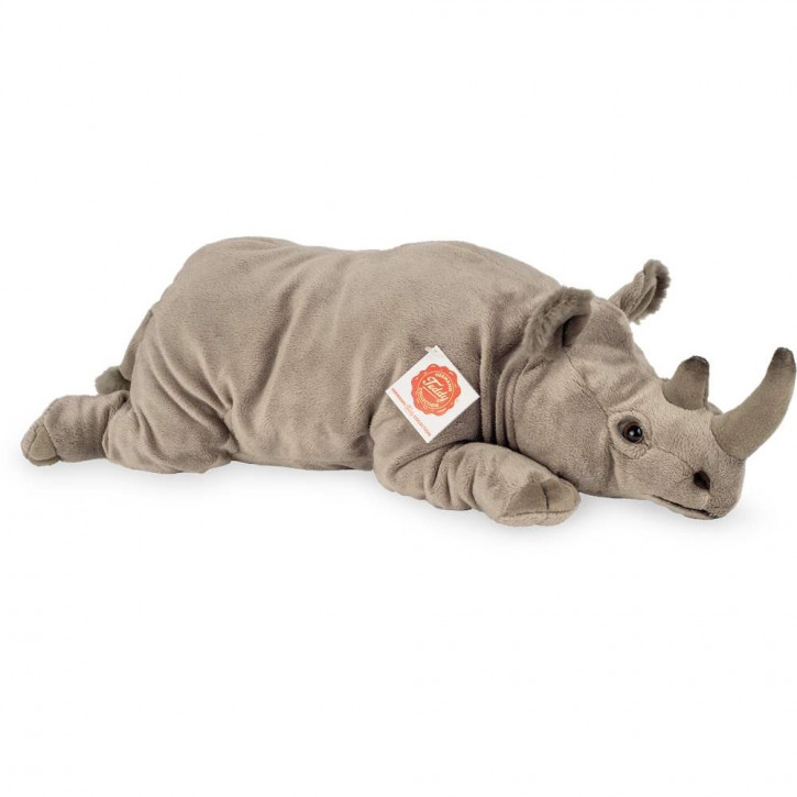 Nashorn liegend 45 cm