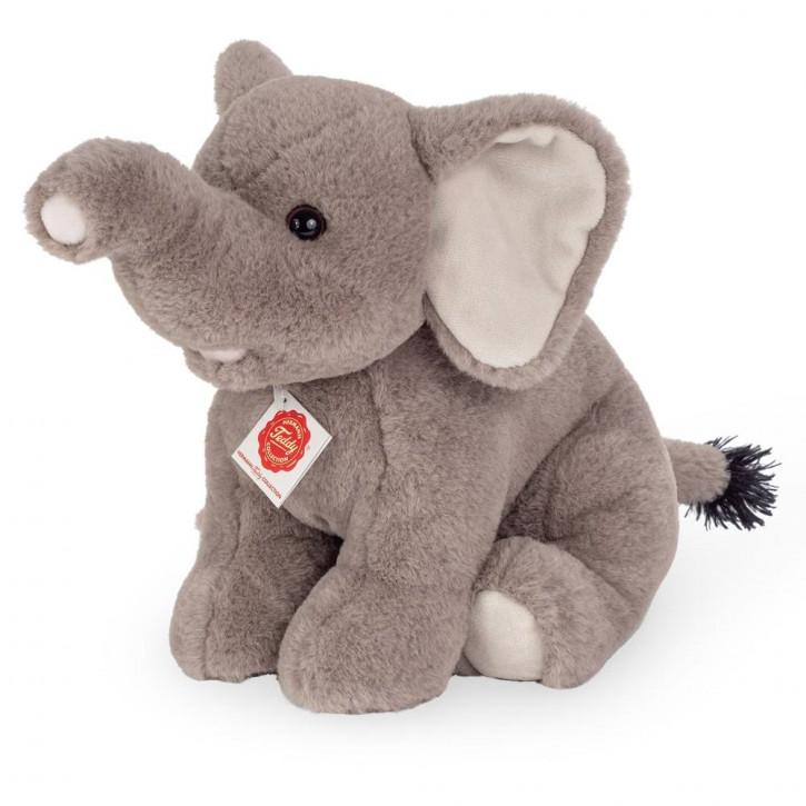 Elefant sitzend 35 cm