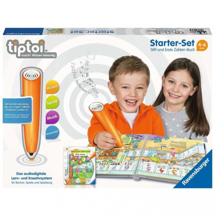 Starter-Set: Stift und Erste Zahlen-Buch