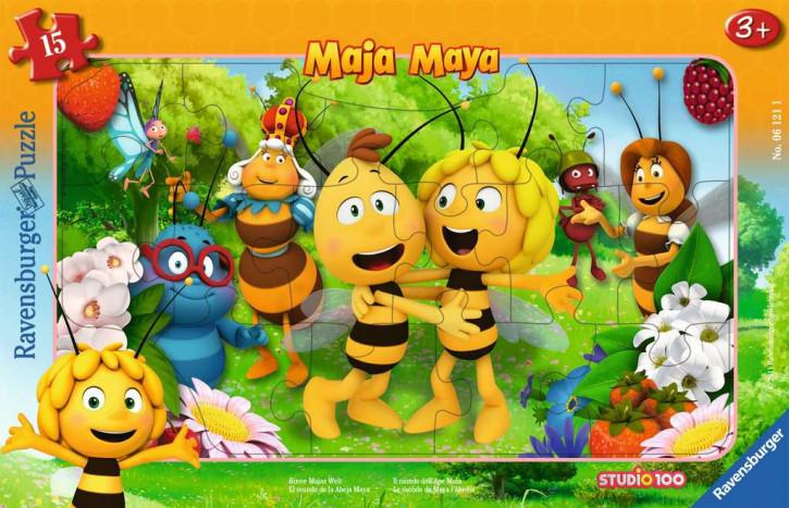 Rahmenpuzzles 15 Teile BM:Biene Majas Welt