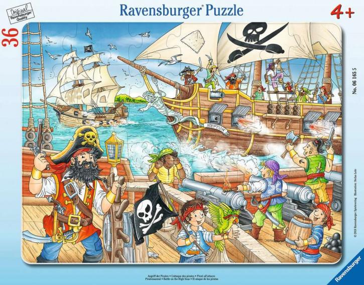 Rahmenpuzzles 36 Teile Angriff der Piraten