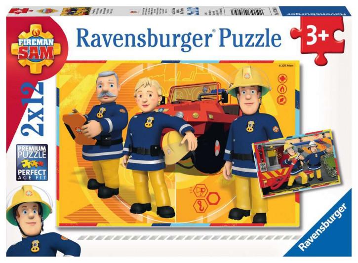 Puzzle 2 X 12 Teile FS:Sam im Einsatz