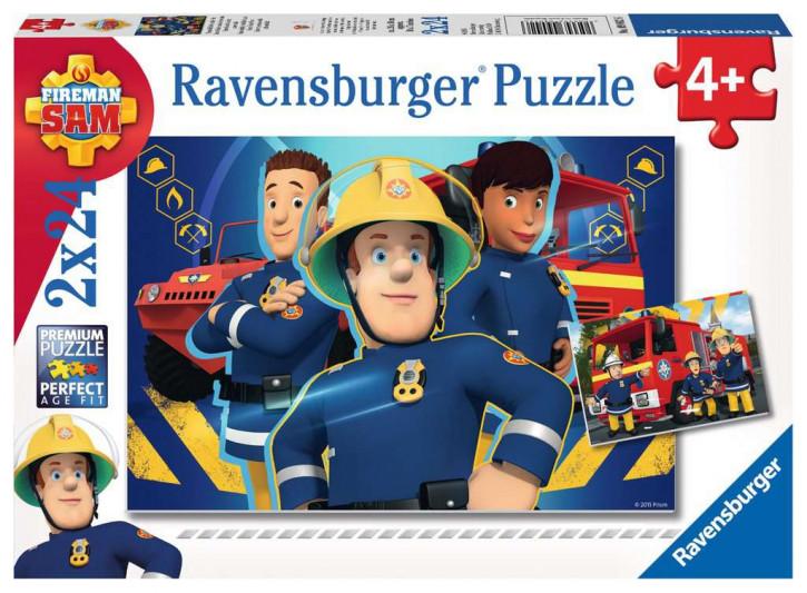 Puzzle 2 X 24 Teile FS:Sam hilft dir in d. Not