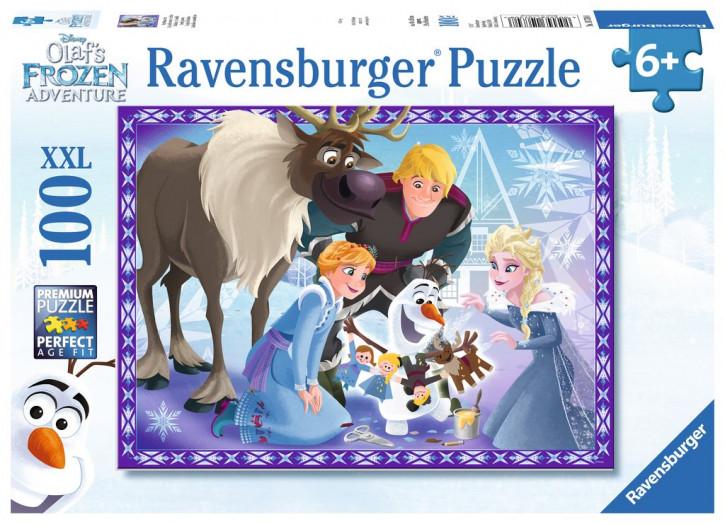 Puzzle 100 Teile XXL Frozen, Familienzauber