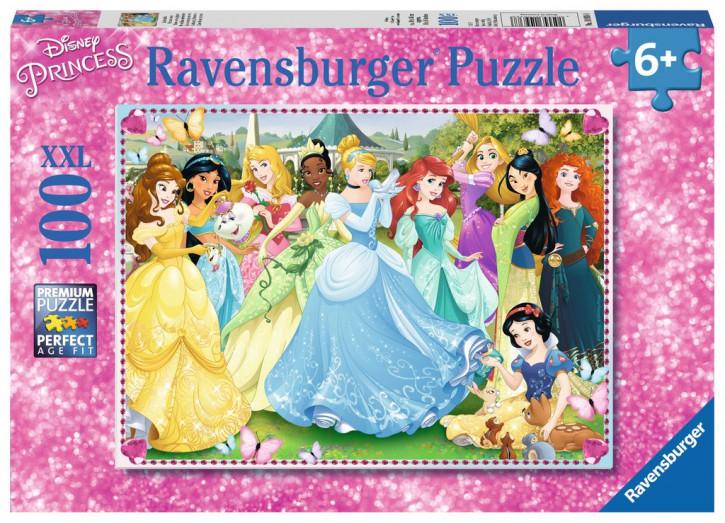 Puzzle 100 Teile XXL Disney Prinzessinnen, Zauberhafte Prinzessinnen
