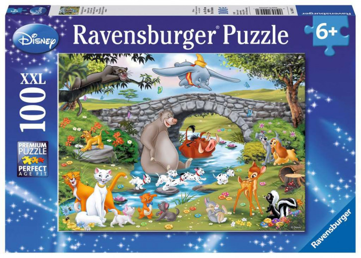 Puzzle 100 Teile XXL Animal Friends, Die Familie der Animal Friends
