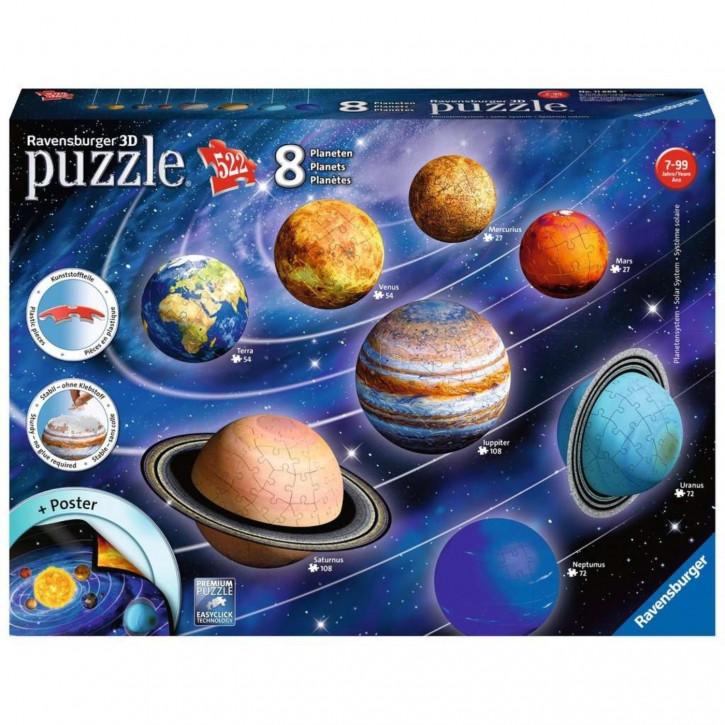 Puzzle 3D Planetensystem