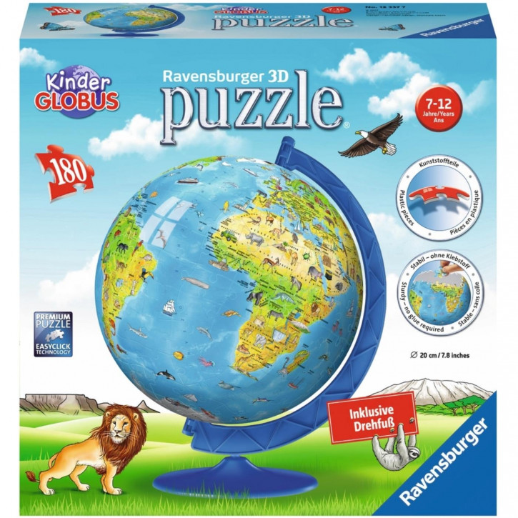 Puzzle 3D Kindererde deutsch ´17