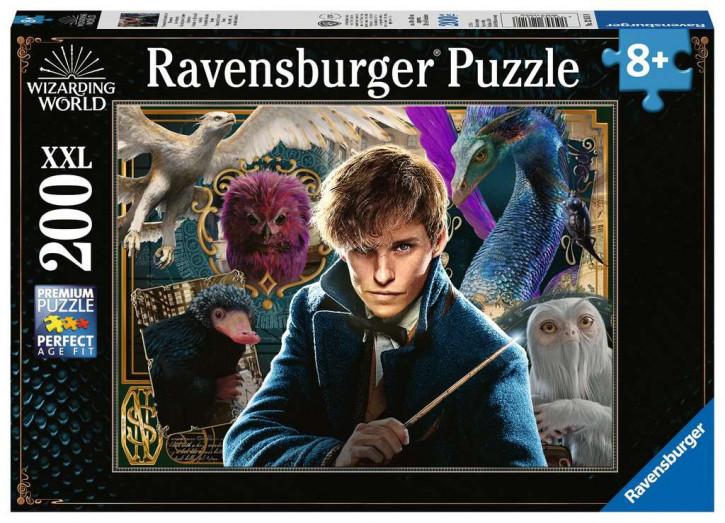 Puzzle 200 Teile XXL Harry Potter, Scamanders Fantastische Tierwesen