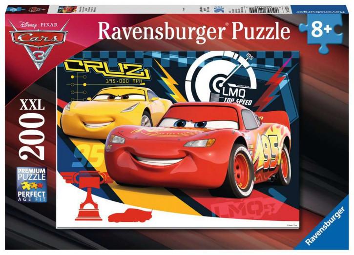 Puzzle 200 Teile XXL Cars, Quietschende Reifen