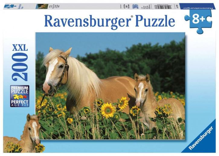 Puzzle 200 Teile XXL Pferdeglück