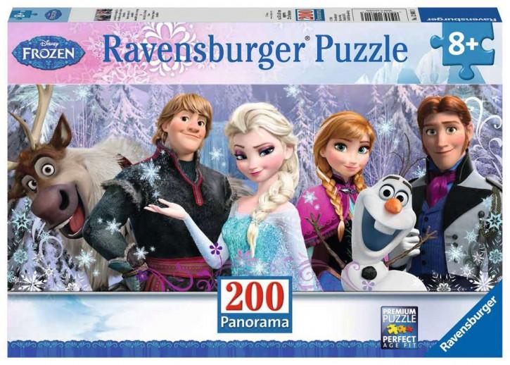 Puzzle 200 Teile XXL Frozen, Arendelle im ewigen Eis