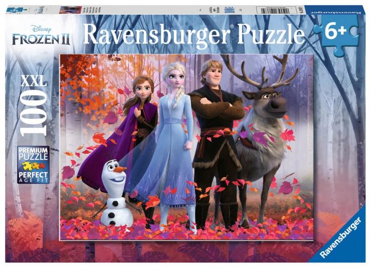 Puzzle 100 Teile XXL Frozen, Magie des Waldes