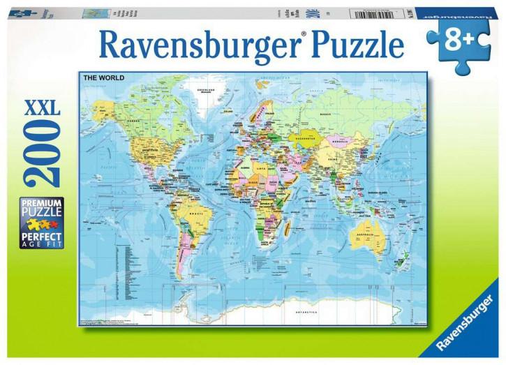 Puzzle 200 Teile XXL Die Welt