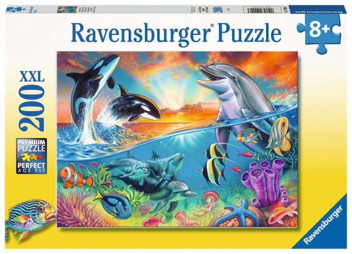Puzzle 200 Teile XXL Ozeanbewohner