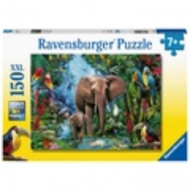 Puzzle 150 XXL Dschungelelefanten