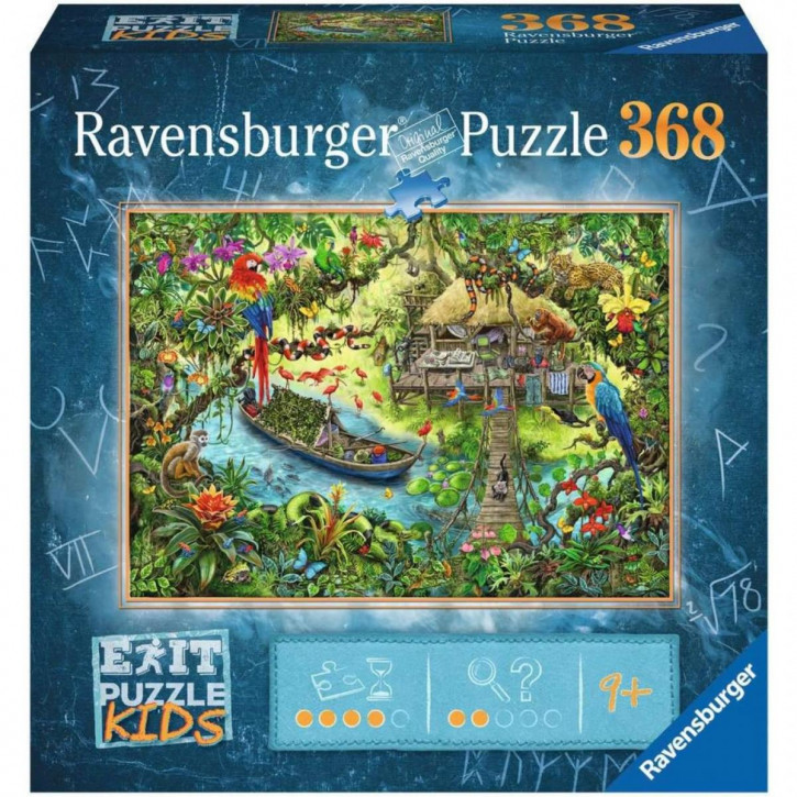 Puzzle 368 Teile EXIT Kids Die Dschungelexpedition