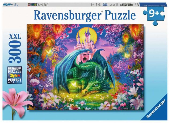 Puzzle 300 Teile Mystischer Drachenwald