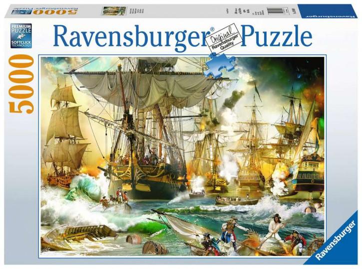 Puzzle 5000 Teile Schlacht auf hoher See